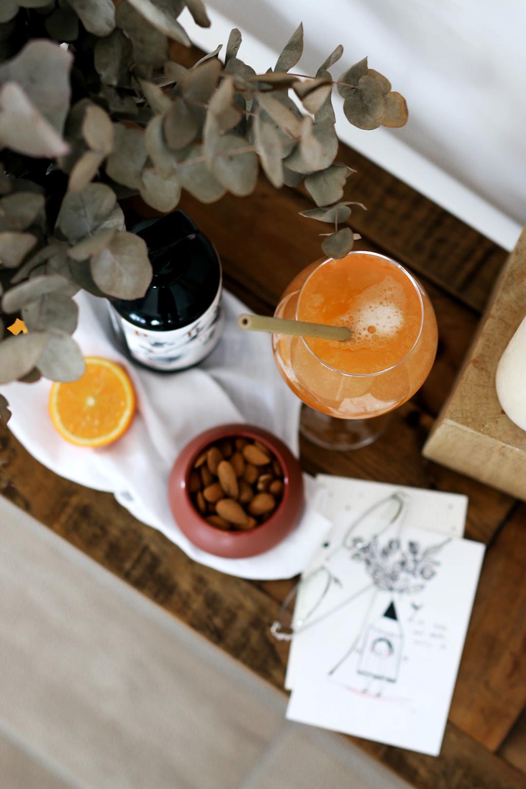 cocktail avec la liqueur h.theoria