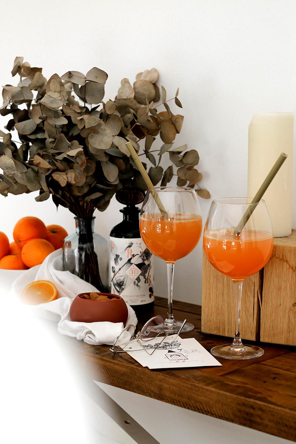cocktails style spritz et gin