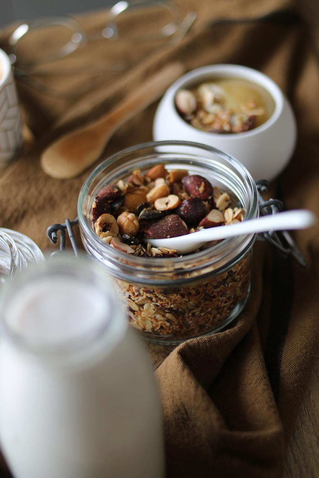 granola coco sans sucre