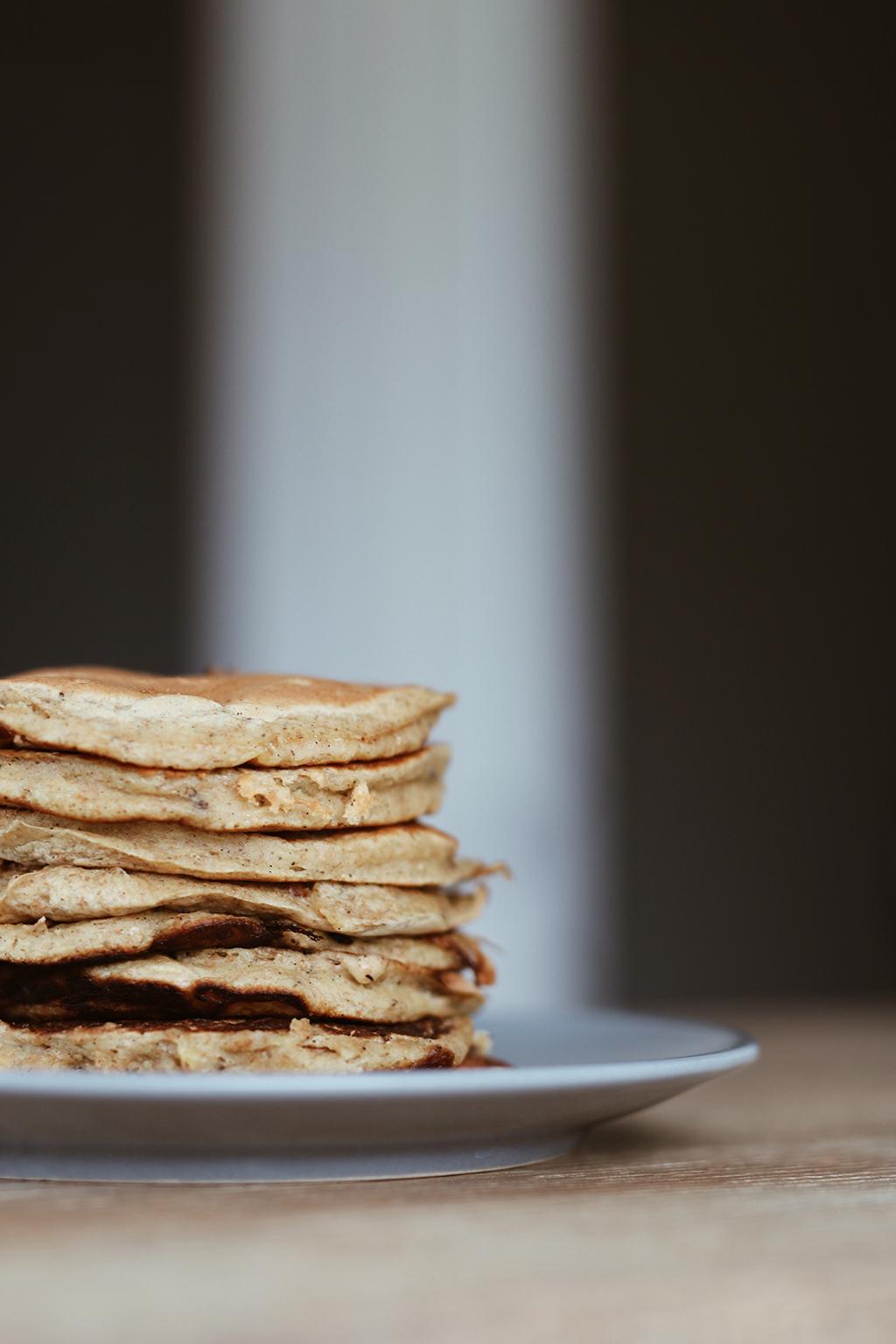 pancakes sans sucre ajouté