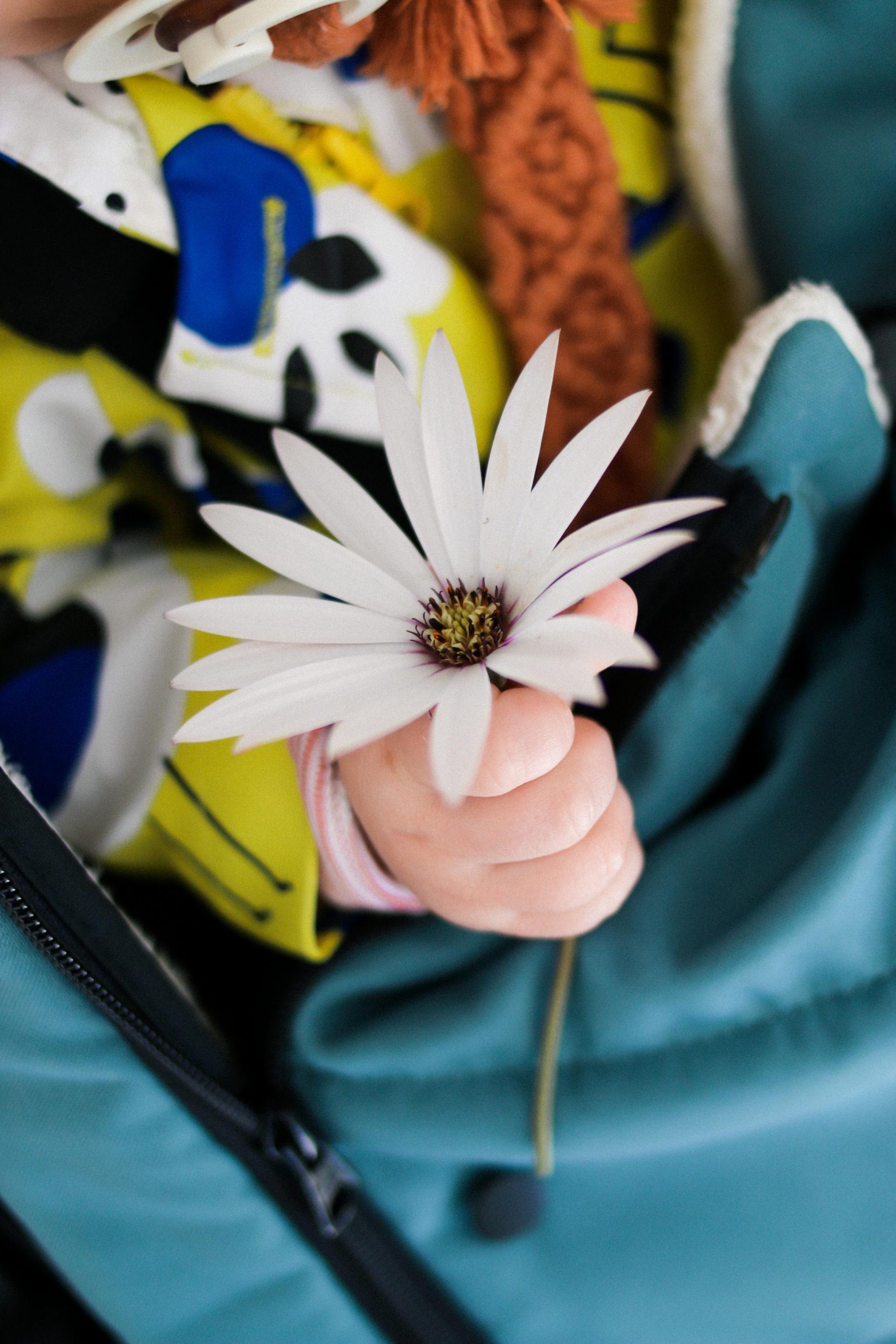 fleur et bébé