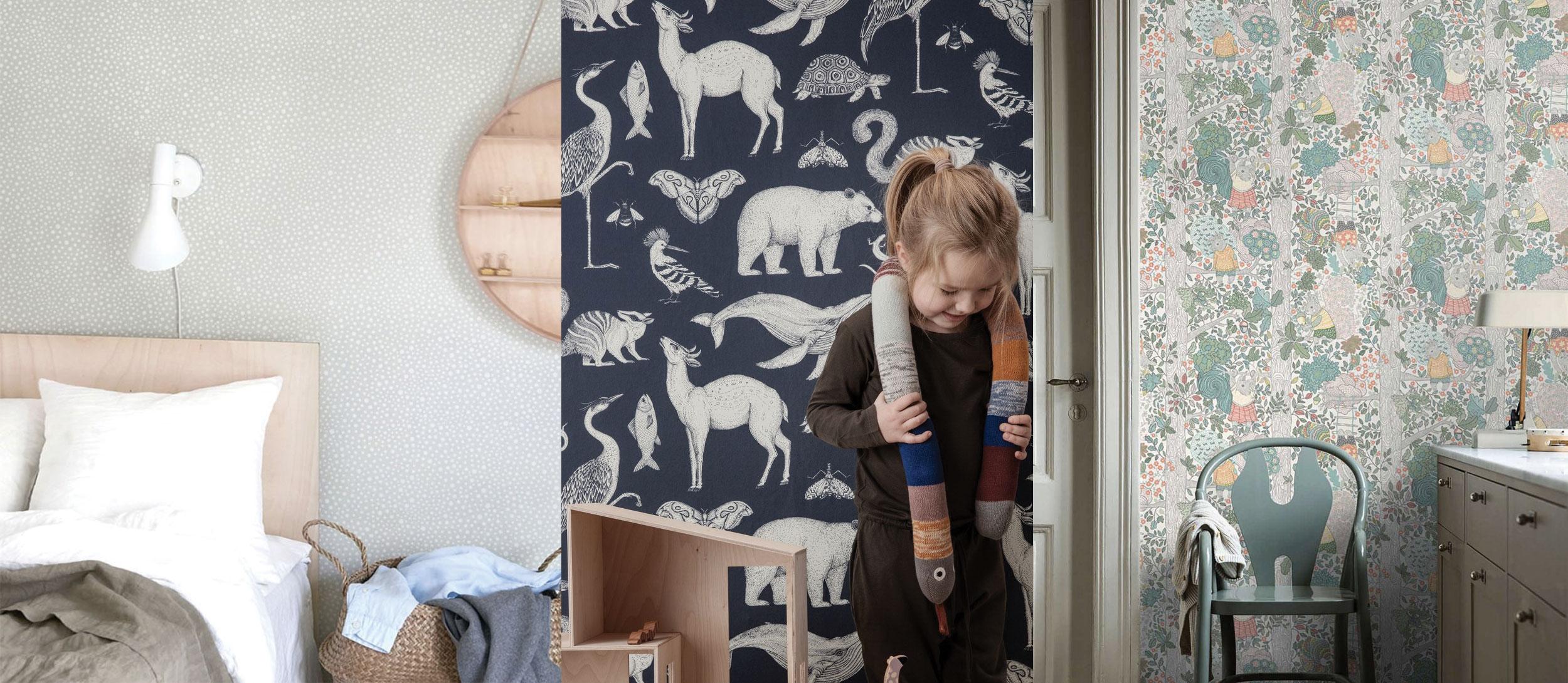 sélection tapisseries chambre bébé