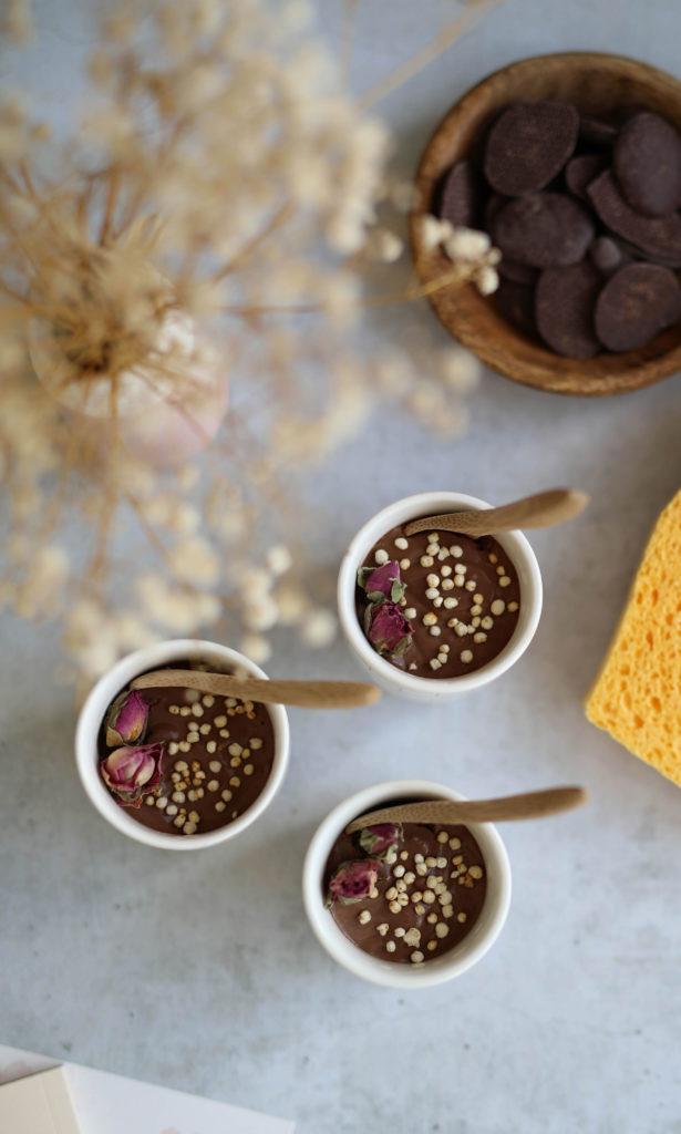 creme vegan au chocolat