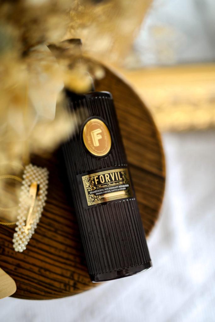 routine capillaire avec la maison forvil
